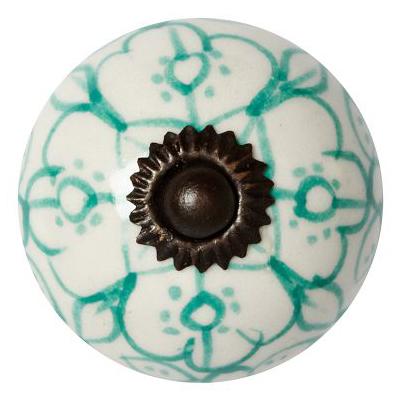 Ceramic Sketched Knobs