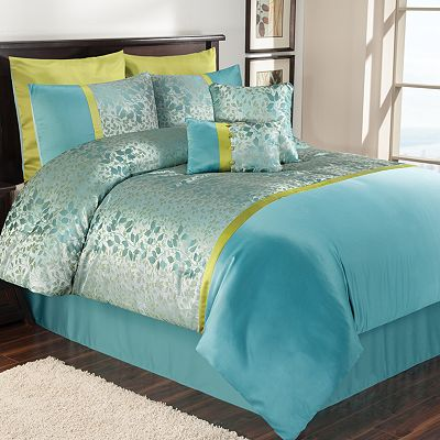 down vixie and comfort com dp aqua mini reversible amazon spaces goose alternative piece comforter set