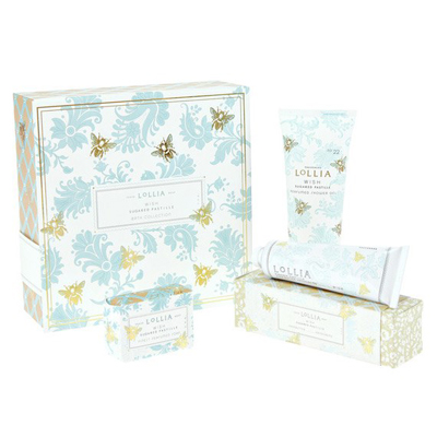 Lollia Wish Limited Edition Bath Gift Set