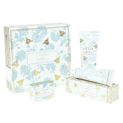 Lollia Wish Limited Edition Bath Gift Set
