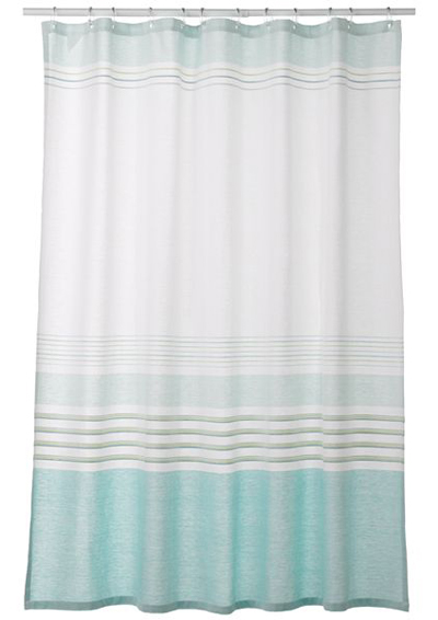 Superb Saturday Knight Ltd. Aqua Spa Shower Curtain