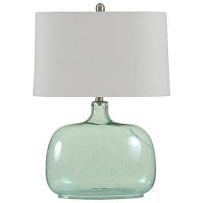 Brentford seeded teal glass table lamp everything turquoise brentford seeded teal glass table lamp aloadofball Images