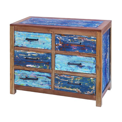 Woodland Imports 6 Drawer Chest