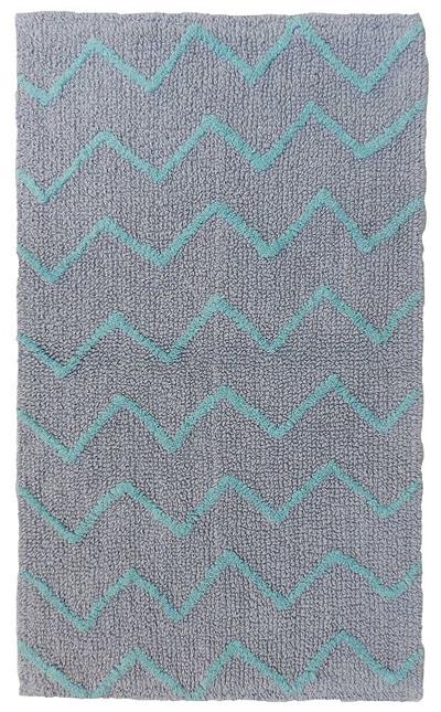 zigzag bath rug everything turquoise