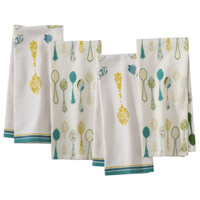 Spoon Kitchen Towel Set Of 4