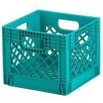 Aqua Milk Crate