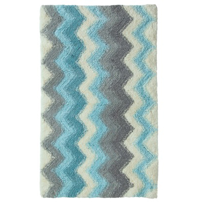 Threshold Fountain Blue Bath Rug