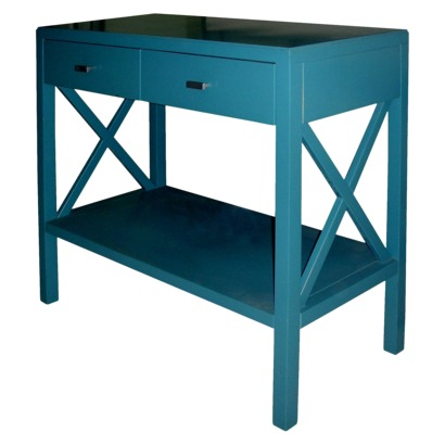 Enhance Your Homeu0027s Décor With This Elegant X Console Table. Add A Little  Pizzazz To Your Favorite Space With Vibrant Teal Color.