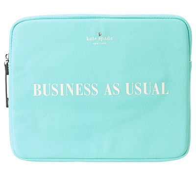 detailed look b6ba2 94960 Kate Spade Business As Usual Tablet Sleeve | Everything Turquoise