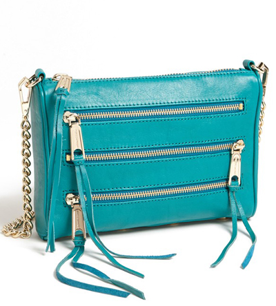 Rebecca Minkoff 5 Zip Mini Crossbody BagEverything