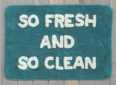 So Fresh Clean Bath Mat