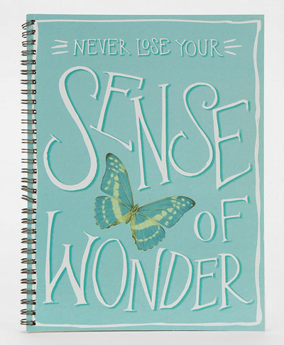 Wonder Spiral Notebook