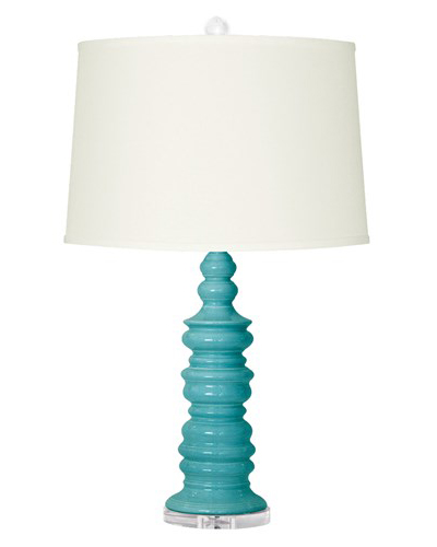 turquoise lamp shade turquoise table lamp. Black Bedroom Furniture Sets. Home Design Ideas
