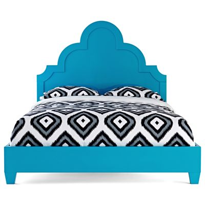 Happy Chic by Jonathan Adler Crescent Heights Lacquer Queen Bed