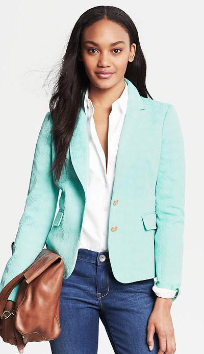Textured Turquoise Blazer