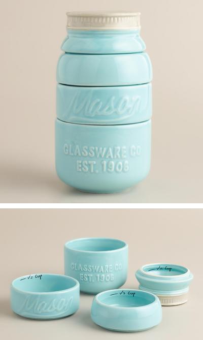 Mason Jar Measuring Cups