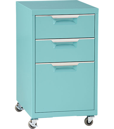 tps aqua file cabinet | everything turquoise