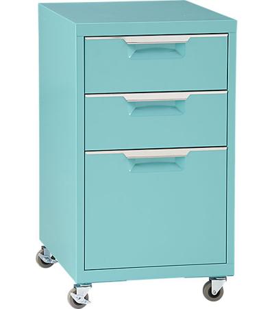 TPS Aqua File Cabinet