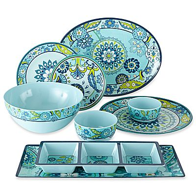 capri melamine dinnerware collection - Melamine Dishes