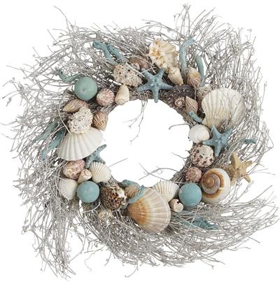 Coastal Shells Wreath