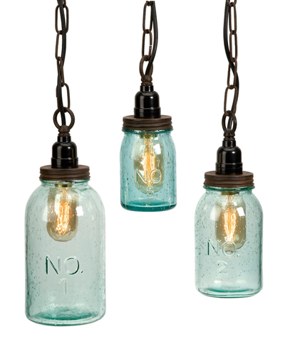 Lexington Mason Jar Pendant Lights
