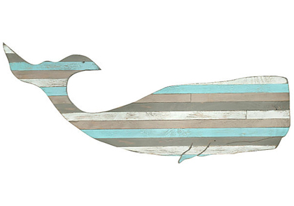 Whale Wall Art pallet moby whale wall art | everything turquoise