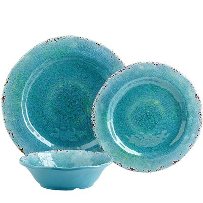 Melamine serveware american metalcraft mel23 endurance for Cuisine turquoise