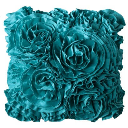 Jersey Ruffle Decorative Pillow Everything Turquoise Cool Ruffle Decorative Pillows