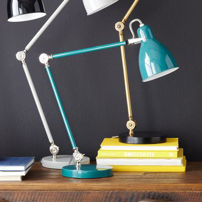 Industrial Task Table Lamps Everything Turquoise