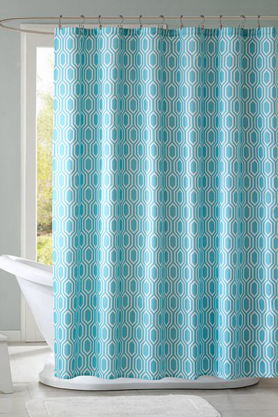 Lexie Fabric Shower Curtain