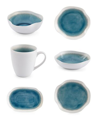Ocean View Dinnerware Collection  sc 1 st  Everything Turquoise & Ocean View Dinnerware Collection | Everything Turquoise