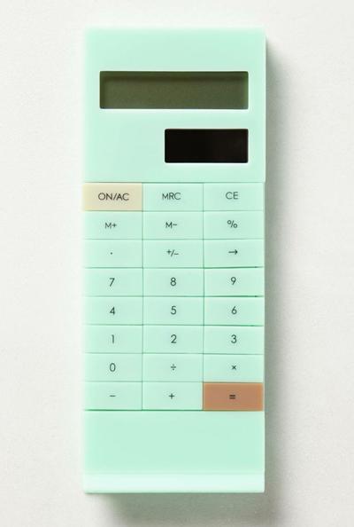 Slip-On Calculator