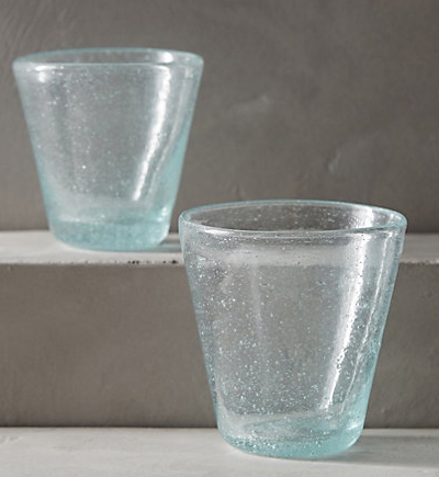 Lost & Found Bubbled Glass Tumbler