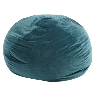 Teal Plush Bean Bag