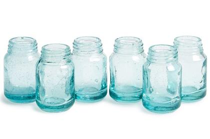 Mason Jar Mini Vase (Set of 6)