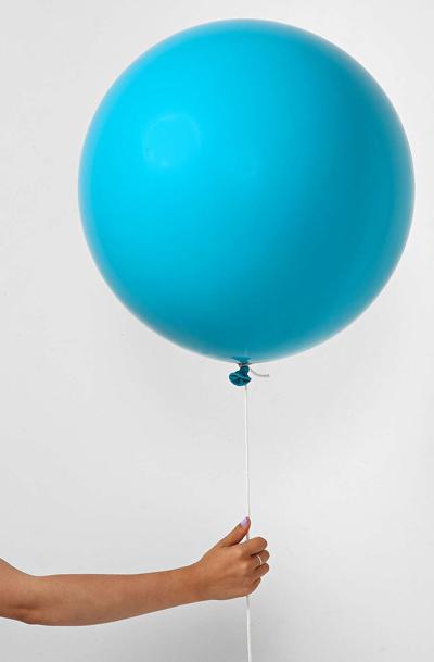 Turquoise Giant 3' Party Balloon
