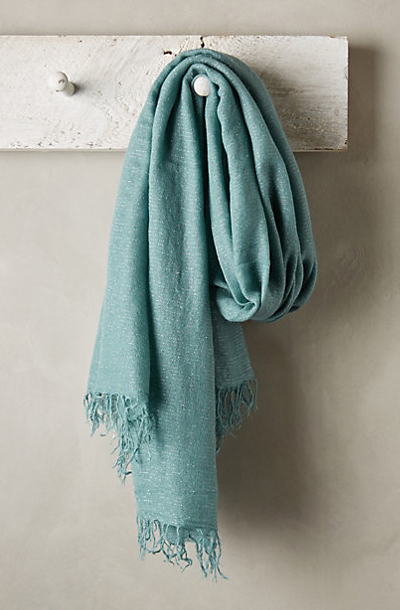 Turquoise Sparked Scarf