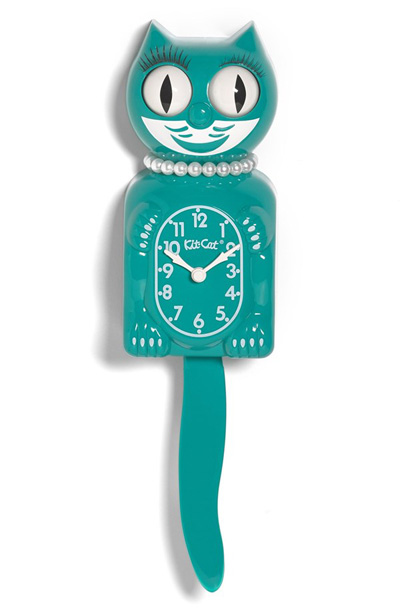 Kit-Cat Lady Cat Pendulum Clock