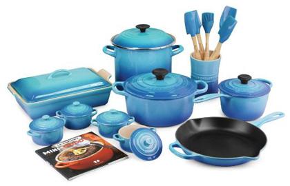 Le Creuset Caribbean 20 Piece Cookware Set