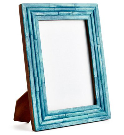 Turquoise Raised Interior Frame