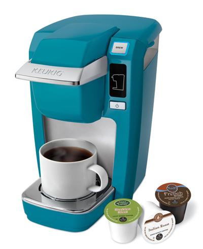 Keurig Turquoise Mini Plus Brewing System