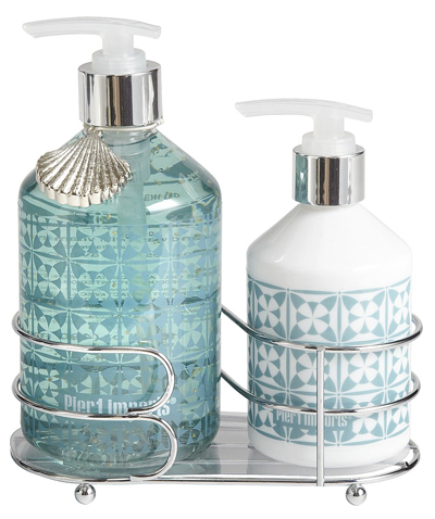 Sea Air Soap & Lotion Caddy