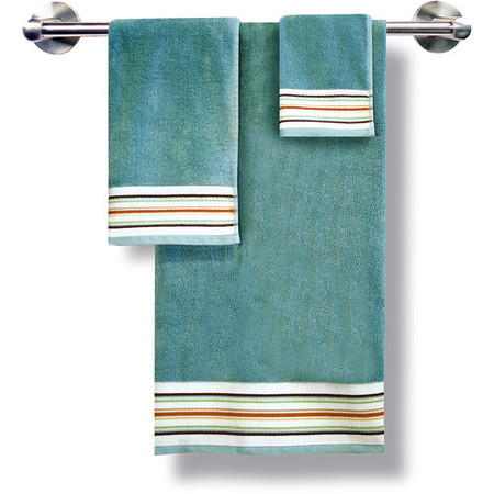 Better Homes And Gardens Classic Stripe 3 Piece Towel Set