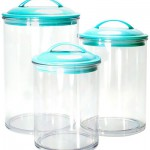 3-Piece Acrylic Canister Set