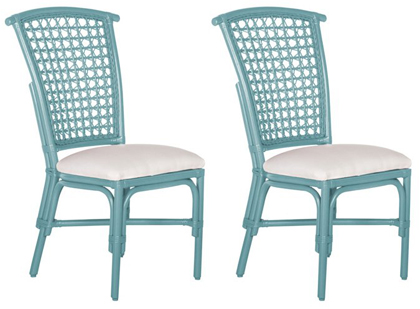 Genial Light Blue Lilly Side Chairs