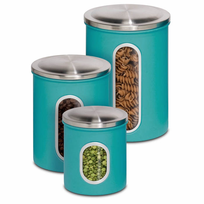 Metal Nested Canister Storage Set