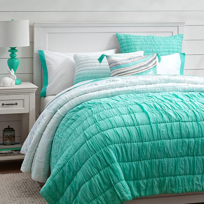 Amazing Ombre Ruched Quilt