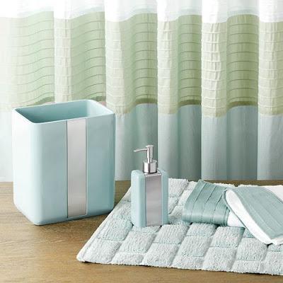 Madison park chester bath accessories everything turquoise - Madison park bathroom accessories ...
