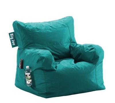 Big Joe Dorm Bean Bag Chair In Deep Aqua Everything