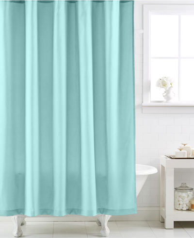 Martha Stewart Collection Micro Diamond Shower Curtain